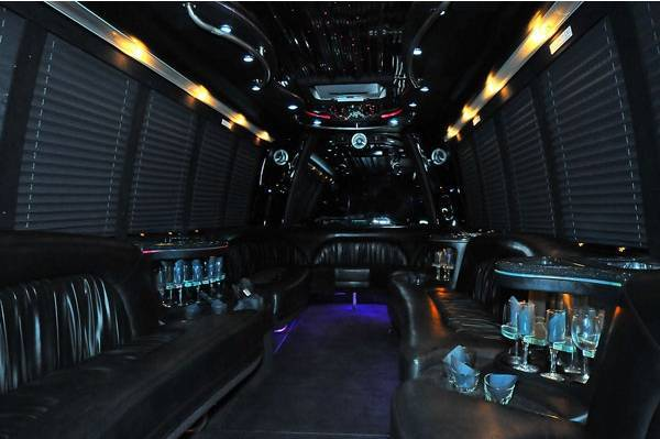 Party bus burnaby interior